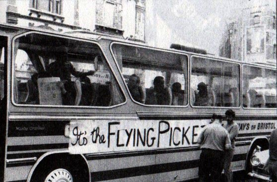 Flying pickets 1972.