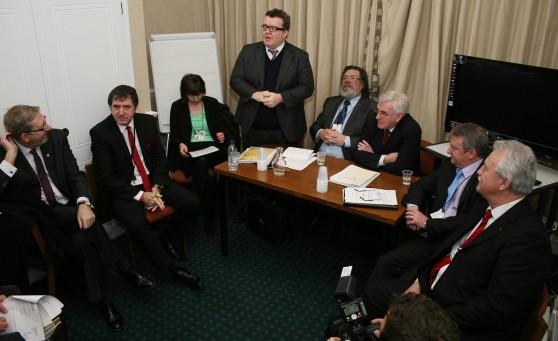 Paliamentary Press Conference Jan 2013