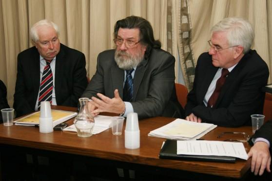 Lord Doug Hoyle,  Ricky Tomlinson,  John McDonnell MP