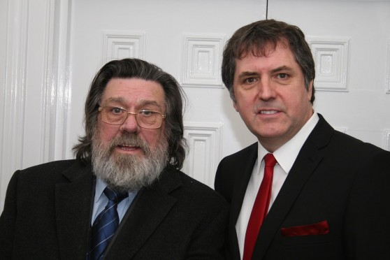 Ricky Tomlinson and Steve Rotherham