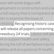 Labour Manifesto Promise