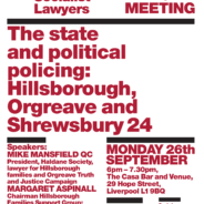 Haldane Society of Socialist Lawyers Fringe Meeting