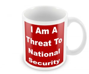 Shrewsbury 24 Threat To National Security Mug